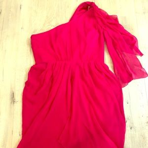 Alicia & Olivia red cocktail dress, NWT